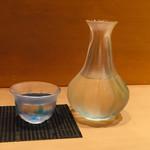 天ぷら やまなか - ポン酒