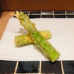 天ぷら やまなか - 香川 アスパラ