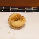 天ぷら やまなか - 酒蒸アワビ