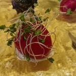 レストランMOMO - トマトとカニのコンフィ