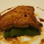 レストランMOMO - フォアグラのソテーアップ