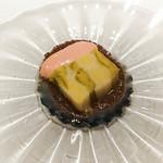 ルメルシマン オカモト - ボロ葱のテリーヌ、地鶏のレバームースとトリュフのヴぃねぐれっと