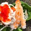 無添くら寿司 - 料理写真:シャリ野菜 えびえびマヨ 100円