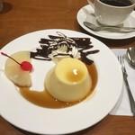 Kissanegishi - プリンとコーヒー