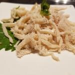 焼肉レストラン平城 - 白センマイ刺し¥780