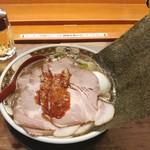すごい煮干ラーメン凪 - すごい煮干ラーメン 1130円