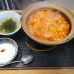 110158294 - ポーザーハン(海老と玉子のチリソース煮)(950円)