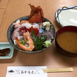 おかもと鮮魚店  - 海鮮丼