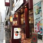 カフェ・ベローチェ -  R1.6 店舗前