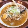 仙川 湯けむりの里 - 料理写真:すり鉢赤味噌ラーメン