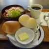 進々堂 - 料理写真:サラダセット¥710