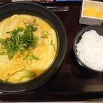 カレーうどん千吉 - 千吉うどん(700円)