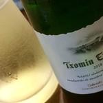 天ぷら新宿つな八 - 微発泡白ワイン
