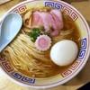 青春餃子 - 料理写真:中華そば+ダシ注入式味玉 700+120円