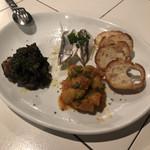 スパニッシュライツ - 前菜の盛り合わせ 1000円