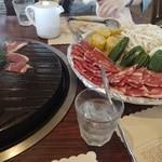 六甲山ジンギスカンパレス - 料理写真: