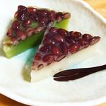 葵餅本店 - みなづき(白、抹茶)