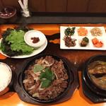 韓国酒膳 ファチェ - 料理写真:プルコギ御膳