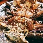 韓国料理 鄭家 - 早速囓ってチューチューすればかなり塩分高め↗
