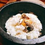 韓国料理 鄭家 - ご飯ではなくビビンバ風にね♫