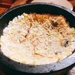 韓国料理 鄭家 - ジュワジュワいいながら楽しめるお焦げとカンジャンケジャンの塩分が良い♡