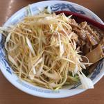 ラーメン SunQ - 塩ネギラーメン+メンマ