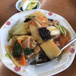 ラーメン SunQ - ミニ中華丼