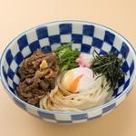 鎌倉 里のうどん - 肉玉ぶっかけうどん