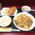 満天香 - 料理写真:焼そばセット