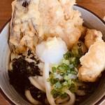 ウドンスタンド五頭 - 夏の天ぷらうどん