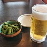 110187316 - ビールと枝豆