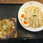 つけ麺 丸和 - 料理写真:嘉六スダチつけ麺大盛メンマ味玉トッピング