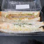 Buranjerikawamura - サンドイッチ
