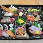 ともしげ - 和洋中会席弁当(茶碗蒸し付き)…4,600円