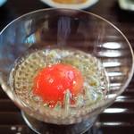 松川 - 高知徳谷産フルーツトマト 広島産じゅんさい