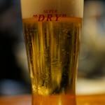 きになるき - 生ビール