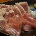 きになるき - 塩で食べるマグロ