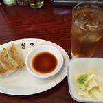 110192811 - 半餃子&ウーロンハイ+サービスの白菜お漬物