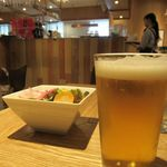 ピッツェリア カンパニーレ - 生ビール580円