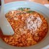 元祖ニュータンタンメン本舗 - 料理写真:タンタン麺中辛、ニラトッピング、ひき肉ダブル