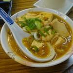 酒の大丸 - 麻婆豆腐