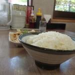 中華食堂満福 - 大盛りライス