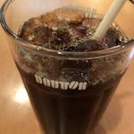 ドトールコーヒーショップ - アイスコーヒー(S) 220円