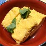 鮨・酒・肴 杉玉 - 出汁巻き卵 鯛出汁あんかけ