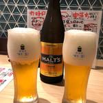 鮨・酒・肴 杉玉 - 瓶ビール