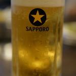焼肉べこ六 - ドリンク写真:生ビール