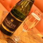 MEAT&WINE WINEHALL GLAMOUR - セニョリオ デ マレステ ブリュット(2,800円+税)2019年5月