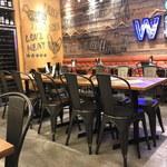 MEAT&WINE WINEHALL GLAMOUR - 内観2019年5月