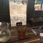Rojiurakarisamurai - 水はコップと水差しに