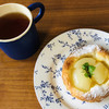 パンヤ パパパン - 料理写真:洋梨のクロワッサン♡さっくりした歯ごたえと贅沢に使われた洋梨コンポート(๑>◡<๑)